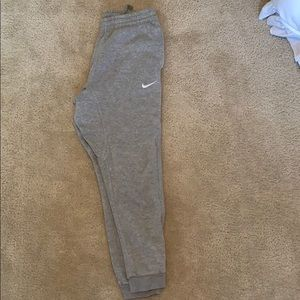 Grey Nike Joggers size Medium
